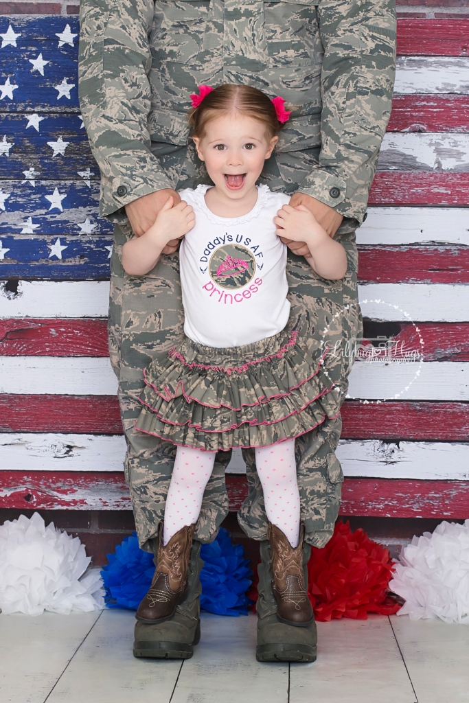 Daddy's USAF Princess! <3
