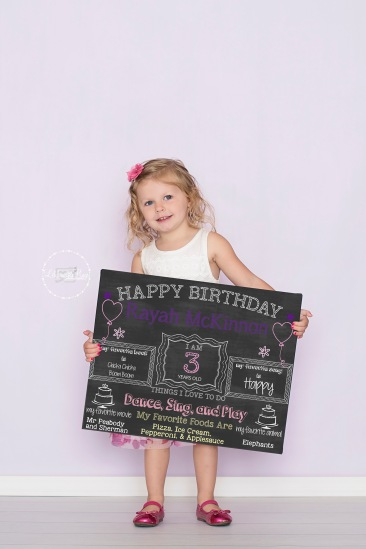 I make chalk signs at your request! They're so fun!