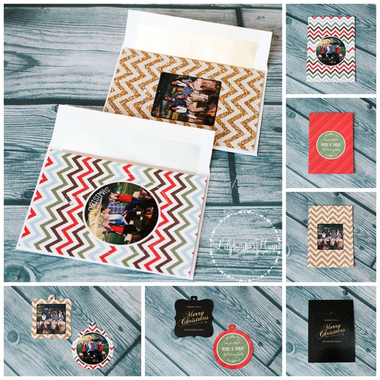 If you missed out on these fabulous holiday cards and you need some of this awesomeness, just shoot me a message so I can customize you your own holiday cards!