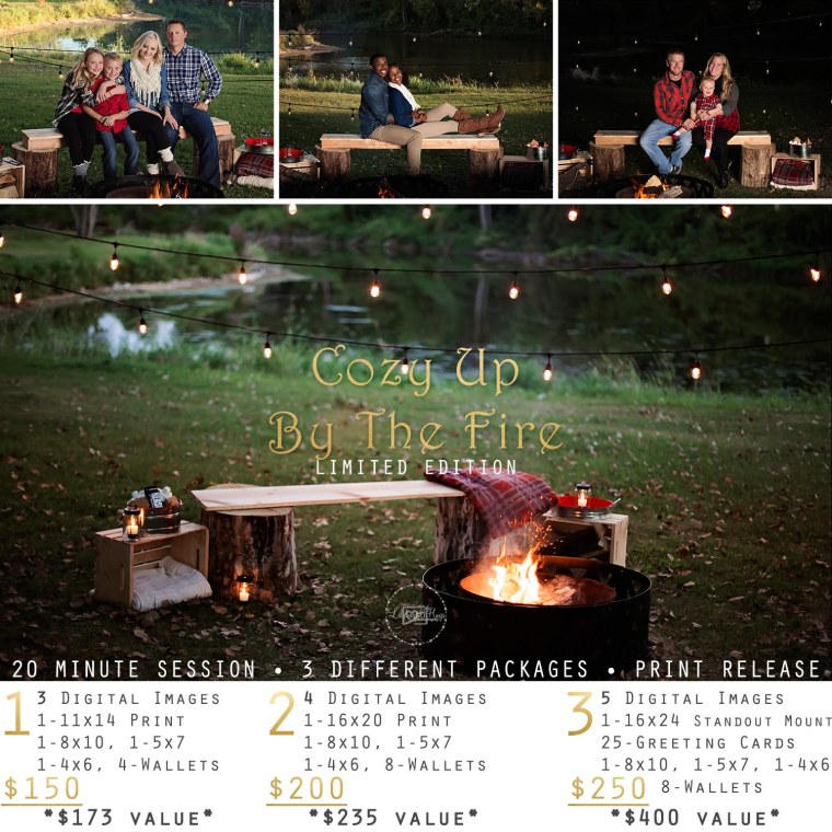 Cozy Up By The Fire Packages F
